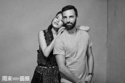 Shu Qi & Nicolas Ghesquière for Modern Weekly China November 2018-3