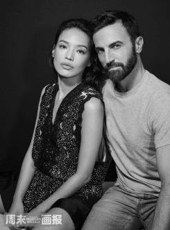 Shu Qi & Nicolas Ghesquière for Modern Weekly China November 2018-4