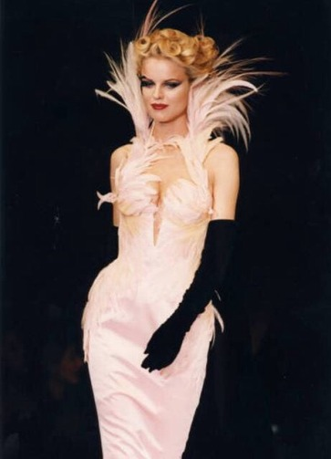 Thierry Mugler Spring 1997 Couture