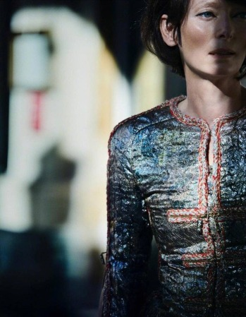 Tilda Swinton for Vogue Japan January 2019-1