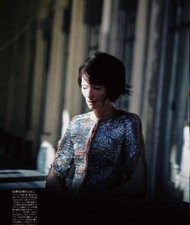 Tilda Swinton for Vogue Japan January 2019-2