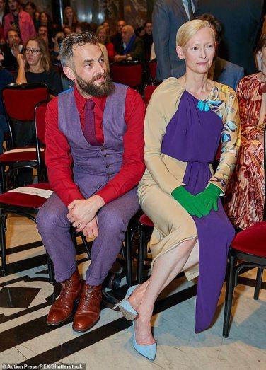 Tilda Swinton in Schiaparelli Fall 2018 Couture-3