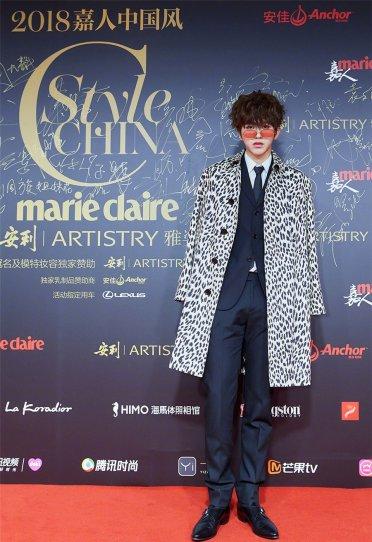 Cai Xukun in Celine Spring 2019