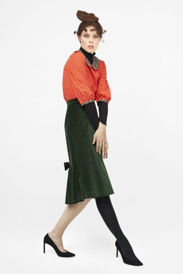 Coco Rocha for Batsheva Pre-Fall 2019 Look 12
