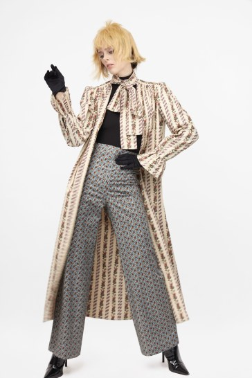 Coco Rocha for Batsheva Pre-Fall 2019 Look 19