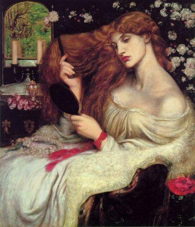 Dante Gabriel Rossetti - Lady Lilith 1867
