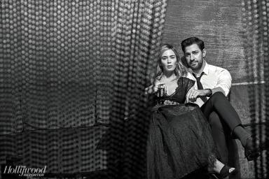 Emily Blunt and John Krasinski for The Hollywood Reporter-3