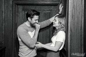 Emily Blunt and John Krasinski for The Hollywood Reporter-6