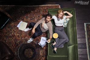 Emily Blunt and John Krasinski for The Hollywood Reporter-8