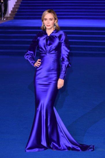 Emily Blunt in Schiaparelli Fall 2018 Couture