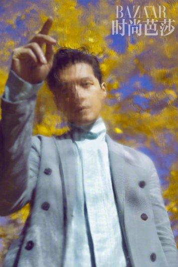 Hu Ge for Harper's Bazaar China January 2019-1