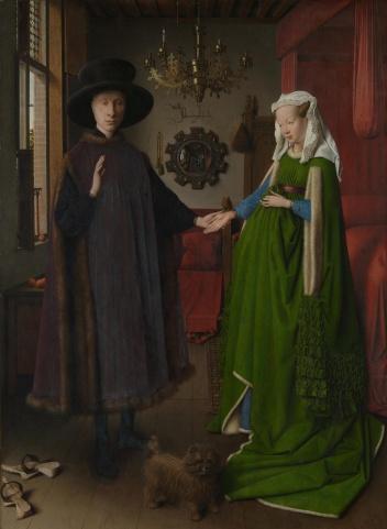 Jan Van Eyck - The Arnolfini Portrait 1434