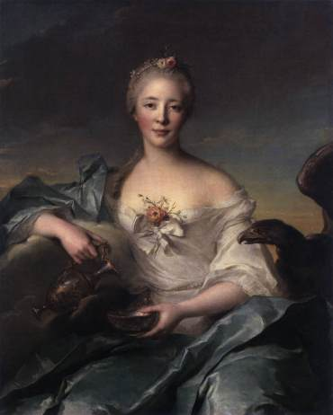 Madame de Caumartin as Hebe 1753