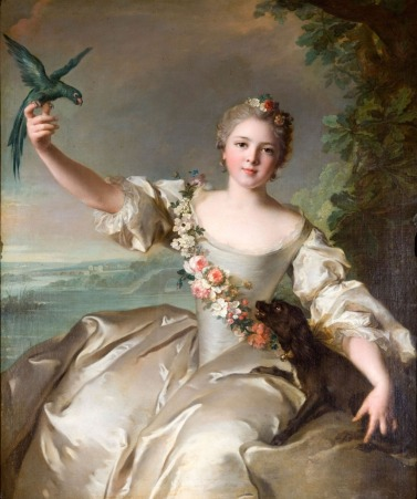 Portrait de Mathilde de Canisy 1738