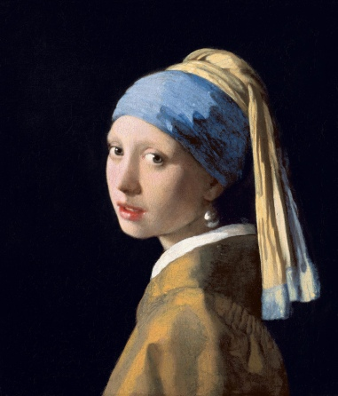 Johannes Vermeer - Girl with a Pearl Earring 1632-1675