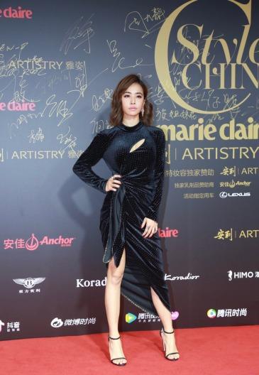 Jolin Tsai in Le Fame Fall 2018-1