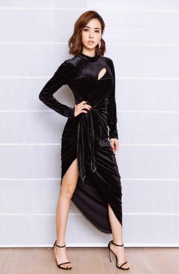 Jolin Tsai in Le Fame Fall 2018-2