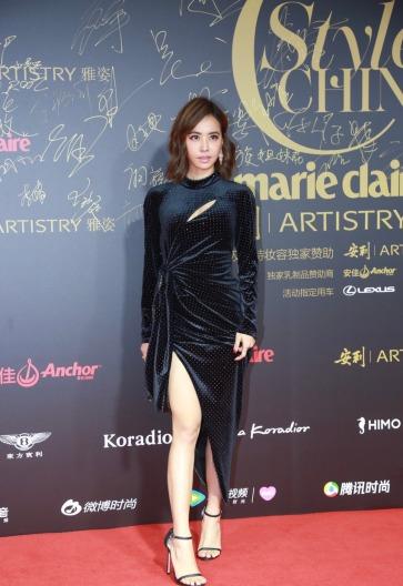 Jolin Tsai in Le Fame Fall 2018