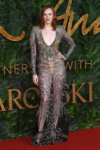 The British Fashion Awards, Arrivals, Royal Albert Hall, London, UK - 10 Dec 2018
