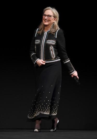 Meryl Streep in Elie Saab Pre-Fall 2018