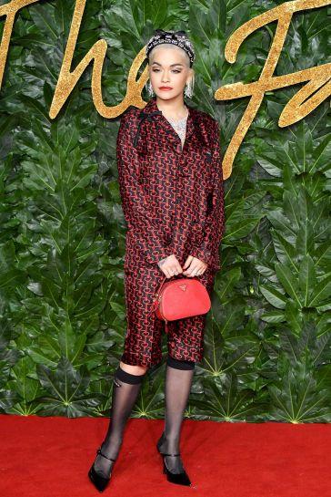 Rita Ora in Prada Spring 2019