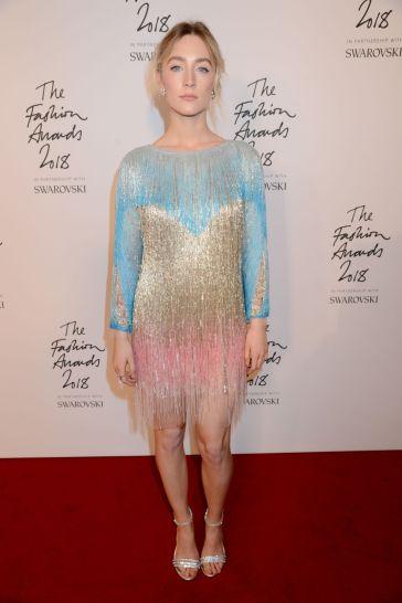 Saoirse Ronan in Gucci Spring 2019