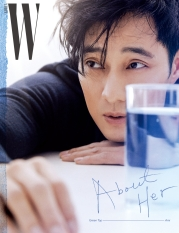 So Ji Sub for W Korea December 2018-2