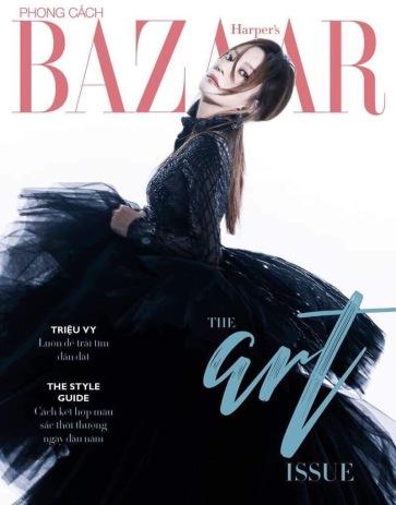 Zhao Wei for Harper's Bazaar Vietnam January 2019 Cover B
