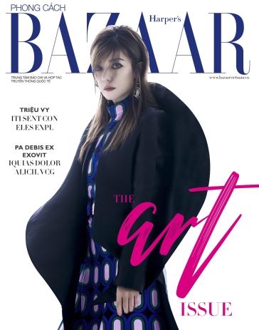 Zhao Wei for Harper's Bazaar Vietnam January 2019 Cover C