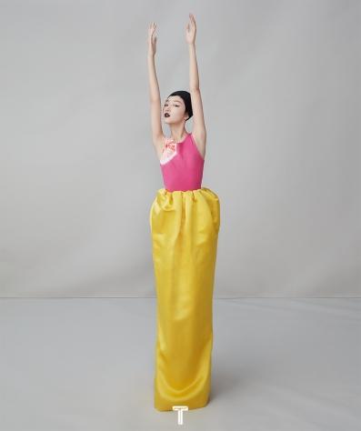 Zhou Dongyu for T magazine China December 2018-7