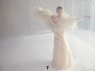 Zhou Dongyu for T magazine China December 2018-9