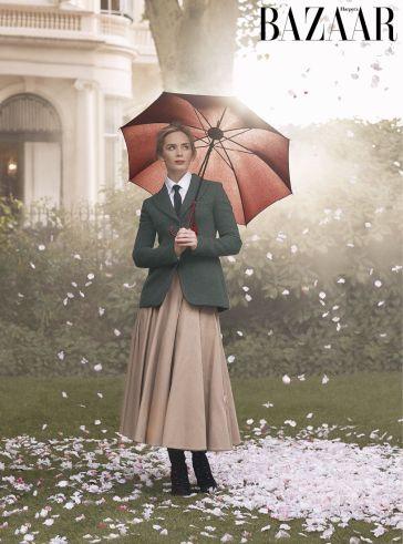 Emily Blunt Harper's Bazaar UK January 2019-1
