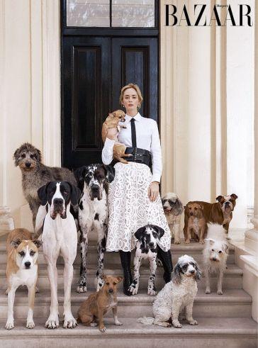 Emily Blunt Harper's Bazaar UK January 2019-2