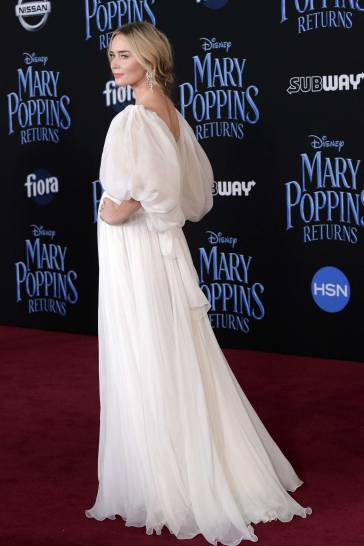 Emily Blunt in Yanina Couture Spring 2018-4