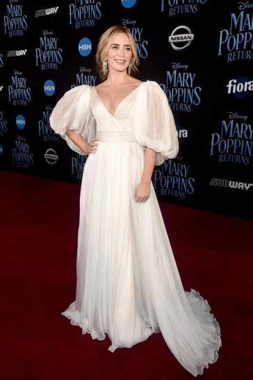 Emily Blunt in Yanina Couture Spring 2018-5