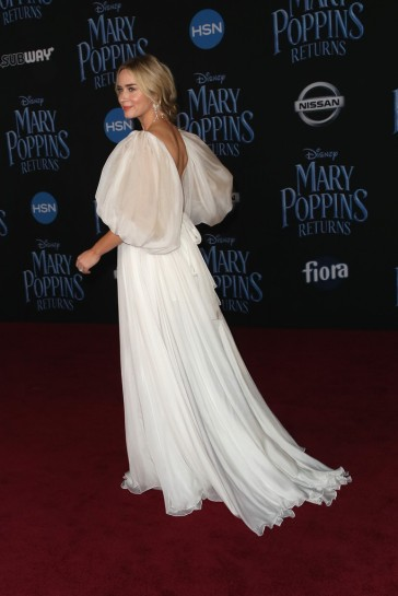Emily Blunt in Yanina Couture Spring 2018-7