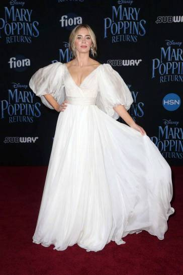 Emily Blunt in Yanina Couture Spring 2018-9