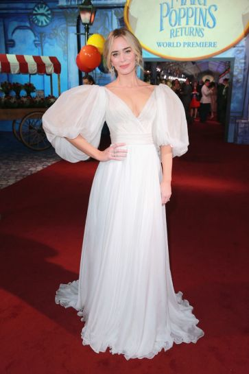Emily Blunt in Yanina Couture Spring 2018