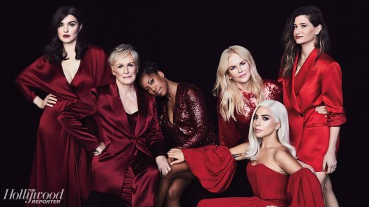 Lady Gaga & Nicole Kidman & Glenn Close & Rachel Weisz & Kathryn Hahn & Regina King for The Holly Reporter November 2018-1