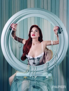 Lindsay Lohan for PAPER Magazines Break the Internet issue-3