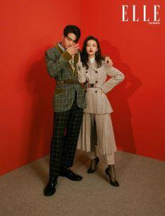 Wu Jing Yen & Hsu Kai for ELLE Taiwan December 2018-1