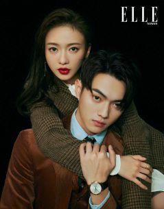 Wu Jing Yen & Hsu Kai for ELLE Taiwan December 2018-3