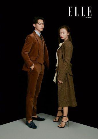 Wu Jing Yen & Hsu Kai for ELLE Taiwan December 2018-4