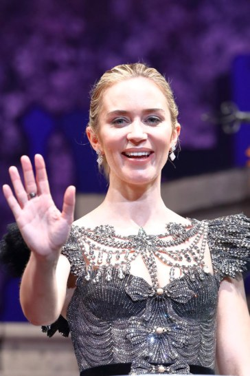 Emily Blunt Attends Japan Premiere for Mary Poppins Returns