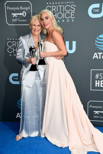 glenn close and lady gaga-1