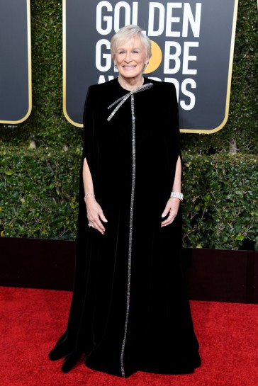 glenn close in armani prive