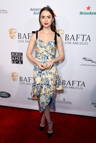 lily collins in johanna ortiz spring 2019-1
