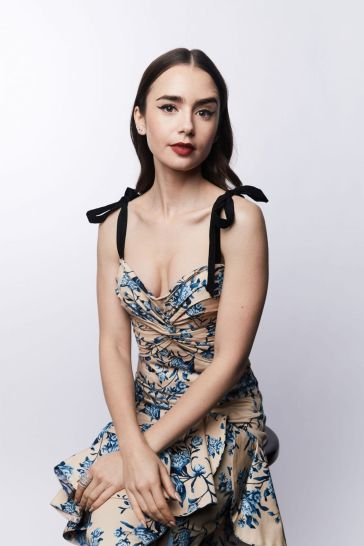 lily collins in johanna ortiz spring 2019-7