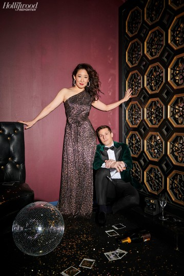 sandra oh & andy samberg the hollywood reporter january 2019-5