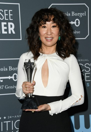 sandra oh in prabal gurung-1